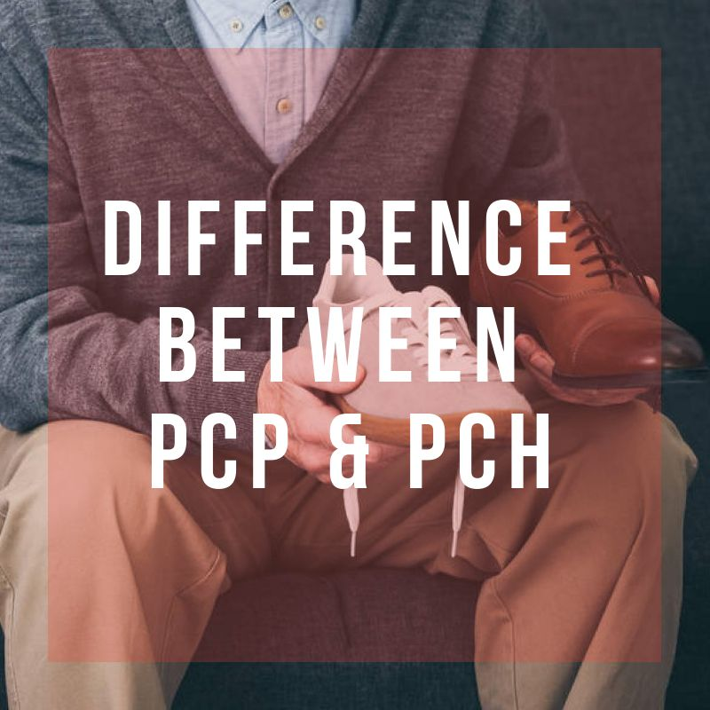 what is the difference between pcp and pch