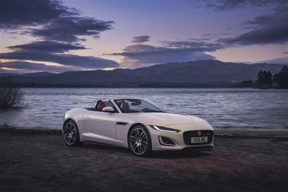 Jaguar F-TYPE Convertible Convertible AWD 5.0 V8 450PS R-Dynamic 2Dr Auto [Start Stop]