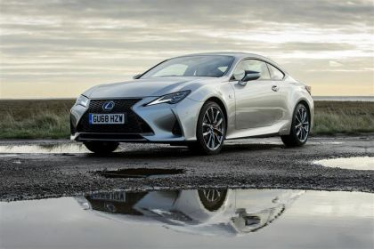 Lexus RC Coupe F Coupe 5.0 V8 463PS  2Dr Auto [Track SRoof Levinson]