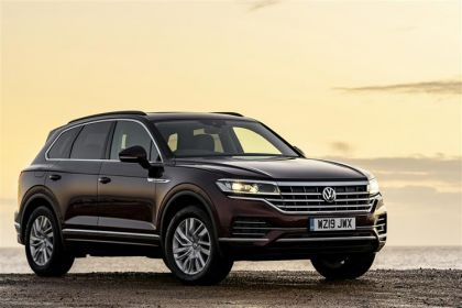 Volkswagen Touareg SUV SUV 4Motion 3.0 V6 TDI 286PS Black Edition 5Dr Tiptronic [Start Stop]