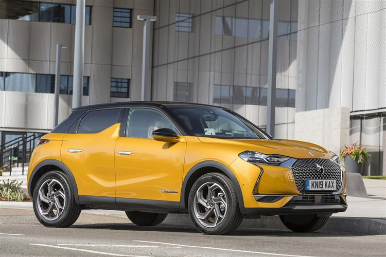 DS Automobiles DS 3 Crossback 5Dr 1.5 BlueHDi 110PS Elegance 5Dr Manual [Start Stop]