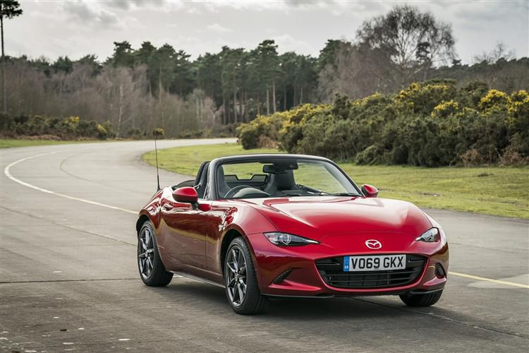 Mazda MX-5 RF 2.0 SKYACTIV-G 184PS GT Sport Tech 2Dr Auto [Start Stop]
