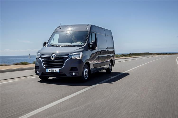 Renault Master LWBL 35 4X4 2.3 dCi ENERGY 4WD 145PS Business Van Medium Roof Manual [Start Stop]