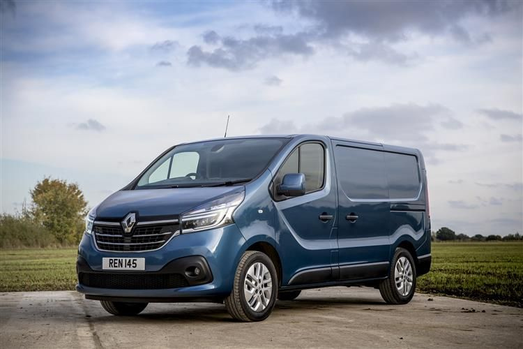 Renault Trafic 28 SWB 2.0 dCi ENERGY FWD 170PS Black Edition Van Manual [Start Stop]