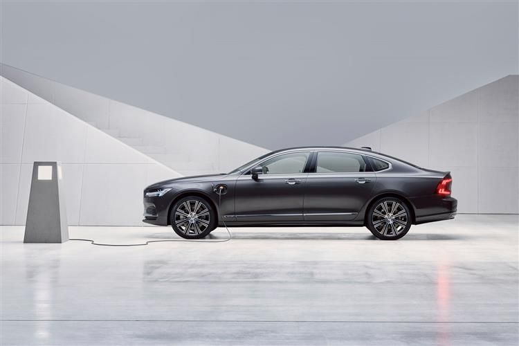 Volvo S90 Saloon AWD PiH 2.0 h T8 11.6kWh 390PS R DESIGN 4Dr Auto [Start Stop]