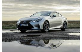 Lexus RC Coupe car leasing